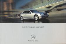 0346MB Mercedes C-Klasse Sportcoupe Prospekt 2001 3/01 230 200 K 180 220 CDI
