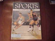 VINTAGE Sports Illustrated Magazine EARLY ISSUE January 9 1956 Skiing Basketball