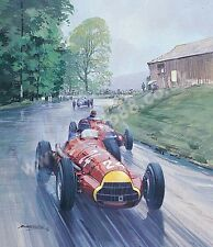 1951 Swiss Grand Prix - Berne (alfa Fangio & Farina) door Michael Turner