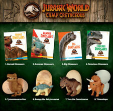 2020 Mcdonalds Jurassic World Camp Cretaceous Complete Set In Hand