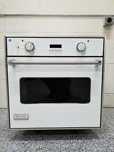 "VIKING WHITE 30"" Single Wall Oven"