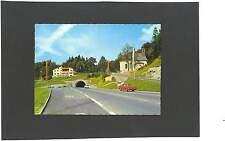 AK Golling Pass Lueg Gasthof mit Maria Brunneck Tunnel Opel Rekord
