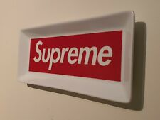 FW14 Supreme red box logo ceramic tray