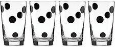 Casual Kate Spade Taste Deco Dot All Purpose Glasses 4 Set Classic Kitchenware