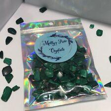 1 X MALACHITE Crystal Tumblestone Absorbs Negative Energies and Pollutants