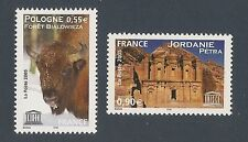 FRANCE 2005 - Timbres de Service UNESCO n° 132 et 133 NEUFS** LUXE MNH