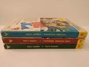 Walt Disney Balloon - Lot 3 Hatchback Supplements A Gli Albi Di Topolino n.11