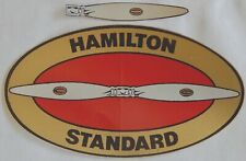 Hamilton Standard Propeller Decals. 1974-2000 - Magenta $6.00 .Oem New