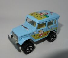 Majorette Kabaya Japon (From Japan) Toyota 4x4 Hello Kitty 1/53 N°277 VERY RARE