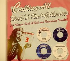CALLING ALL ROCK 'N' ROLL COLLECTORS - Vol# 3 - 30 Cuts