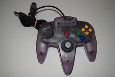 Official ATOMIC PURPLE Video Game Controller for Nintendo 64 N64 System NUS-005