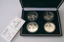4 X 5 YUAN ARGENT 1984 CHINE CHINA   terracotta army set
