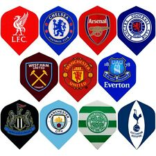 Football Dart Flights Official Licensed Teams Standard Shape 1-10 Sets Authentic
