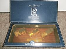 ROLLS ROYCE~LLEDO 24-Carat Gold Plated Limited Edition~3 CAR SET~MINT~FREE POST