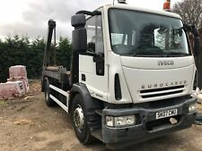 Iveco euro cargo Skip lorry loader