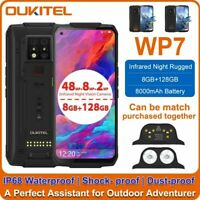 OUKITEL WP7 6.53 inch FHD + Global 8GB 128GB Dual 4G Rugged Smartphone 8000MAH