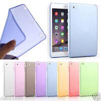 Clear Gel Soft TPU Protective Case Cover Skin For Apple iPad mini 1 2 3 4 Retina