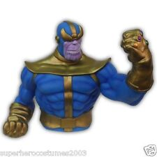 Marvel Bust Bank Thanos Action Figures Avengers