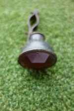 Early Cycle Rear Dynamo Lamp and Bracket Red facet lens