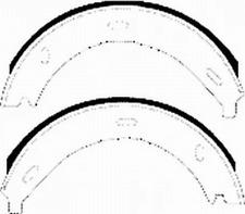 Rear Parking Brake Drum Shoe Set Fits Mercedes-Benz OE 24204720 Ferodo FSB536
