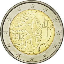 [#466049] Finlande, 2 Euro, 150 years, 2010, SPL, Bi-Metallic, KM:154