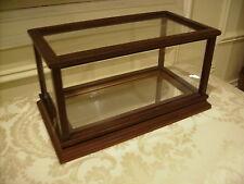 Franklin Mint Wood Display Case