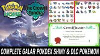 Pokemon Sword and Shield Full Galar Pokedex & Crown Tundra ULTRA SHINY!!