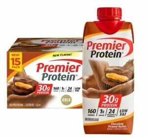 Premier Protein Chocolate Peanut Butter  30 Pack ***NEW FLAVOR****