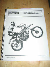 CAN-AM MX-1 AND MX-2 SUSPENSION+RACE PREP BOOKLET BOMBARDIER FREE SHIP US+CANADA