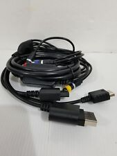 Combo Cable for XBox 360, PS2, PS3, WII to HDTV ONN HD A/V Entertainment Theater