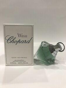 WISH by Chopard 75 ml Eau de Parfum - New / Unused Tester