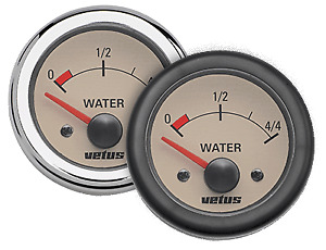 Vetus WATER24W Water Level Indicator Cream 24V (52mm cut out)