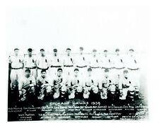 1938 SPOKANE HAWKS INDIANS WIL 8X10 TEAM PHOTO USA BASEBALL