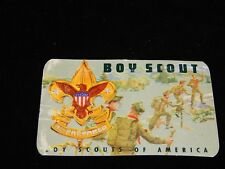 Vintage Scout Card, BOYS SCOUTS OF AMERICA TROOP 89,EASTON,WA,1965 Lester Abbott