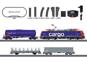 "Märklin 29861 Digital-Startpackung ""Schweizer Güterzug"" mit MS 60657# NEU OVP"