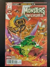 MONSTERS UNLEASHED! #9a (2018 MARVEL Comics) ~ VF/NM Comic Book