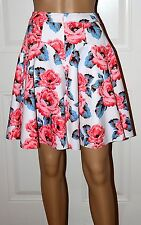 $79 New INC Floral Skirt Flower Shop Sugar Roses Sz 6