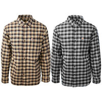 Carhartt Men's S02 Rugged Flex Hamilton Plaid L/S Flannel Shirt (Retail $60)