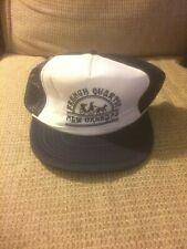 Vintage Designer Award French Quarter New Orleans Snapback Mesh Trucker Hat Rare