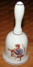 1986 Norman Rockwell Porcelain Bell (Saturday Evening Post) Missing the Dance
