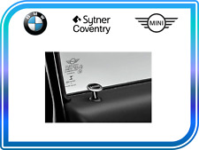 MINI Genuine Interior Door Lock Round Pin With Logo Essential Design 82292358511