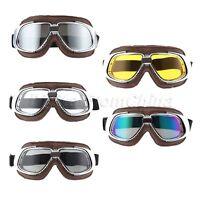 Vintage Motocross Goggles Outdoor Skiing Racing Helmet Eyewear Dustproof Glasses