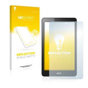Anti Reflet pour Acer Iconia One 8 B1-830 Reflection Protection Ecran Mat Film