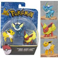 Pokemon Go Vaporeon/Jolteon/Flareon Action Figure 3 pcs/Set Box Party Toys Gift