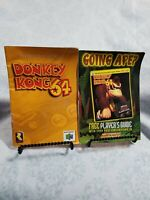 Donkey Kong 64 Original Authentic & Manual Plus Insert Only **NO GAME**