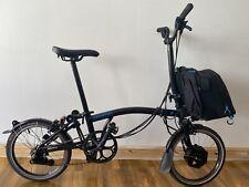 Brompton H6L 2020 Electric Folding Bike with city bag