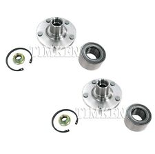 Pair Set of 2 Front Timken Wheel Bearing Hub Kit for Toyota Camry Solara L4 FWD