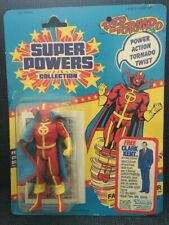 Kenner Super Powers Red Tornado figure MINT on VG card