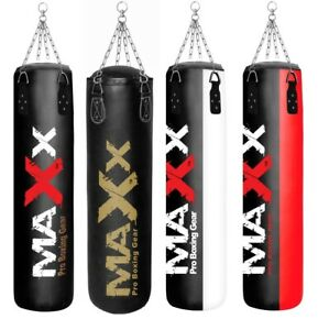 EMPTY 5FT Punch Bag Training UNFILLED WITH CHAIN  boxing bag Punchbag  mma ufc