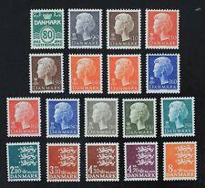 CKStamps: Denmark Stamps Collection Scott#629/648 Mint NH/H OG